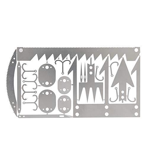 2 x Survival-Multifunktionswerkzeug, Tasche...