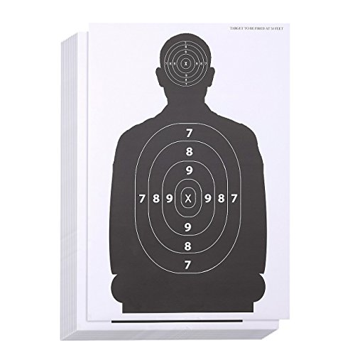 LÖ SchießzielblätterPapierschießen Ziele,...