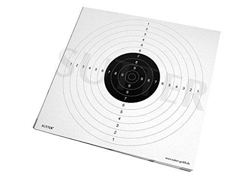 SUTTER Zielscheiben 55x53cm mit...