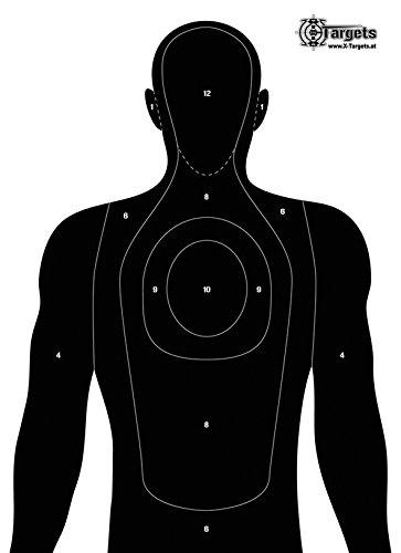 X-Targets Große Zielscheiben Human...