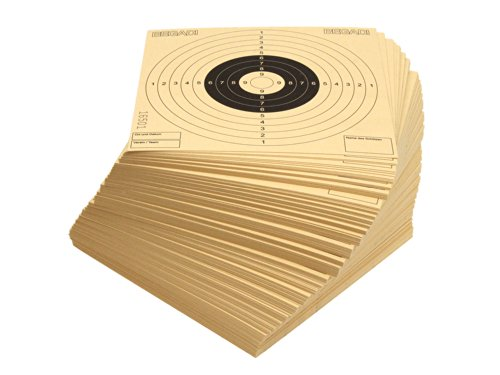 BEGADI 250 Qualitäts- Zielscheiben 14x14cm,...