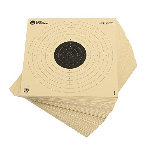 250 Stück Luftpistolenscheiben 17 x 17 cm /...