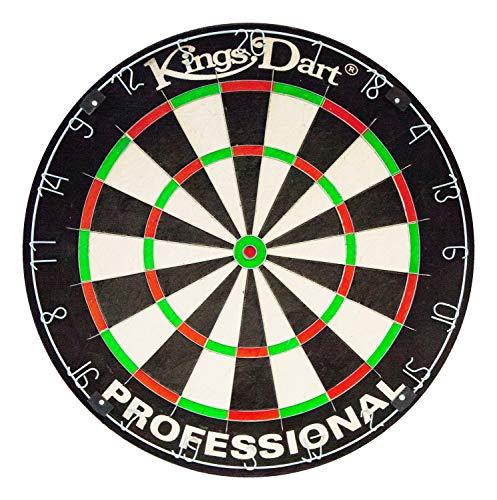 Kings Dart Profi-Dartscheibe | Sisal | 0,7 mm...