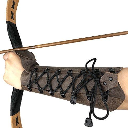 longbowmaker Traditioneller Armschutz aus...